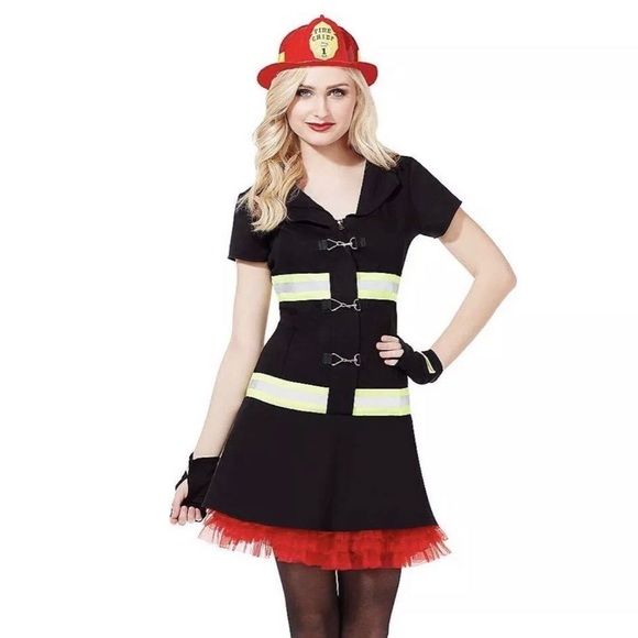 Firefighter Babe Occupational Costume